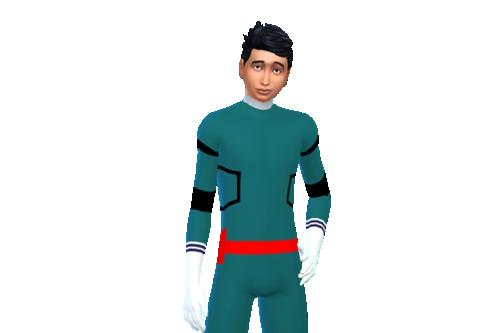Deku Izuku Midoriya My Hero Academia inspired costume