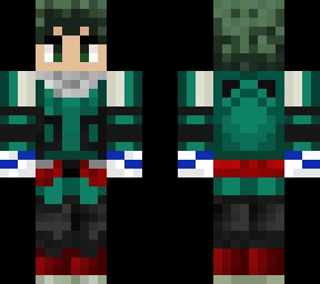 Deku Costume Beta costume 20  Minecraft Skin