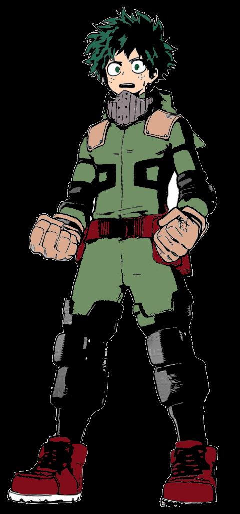 my hero academia deku Izuku Midoriya full body by