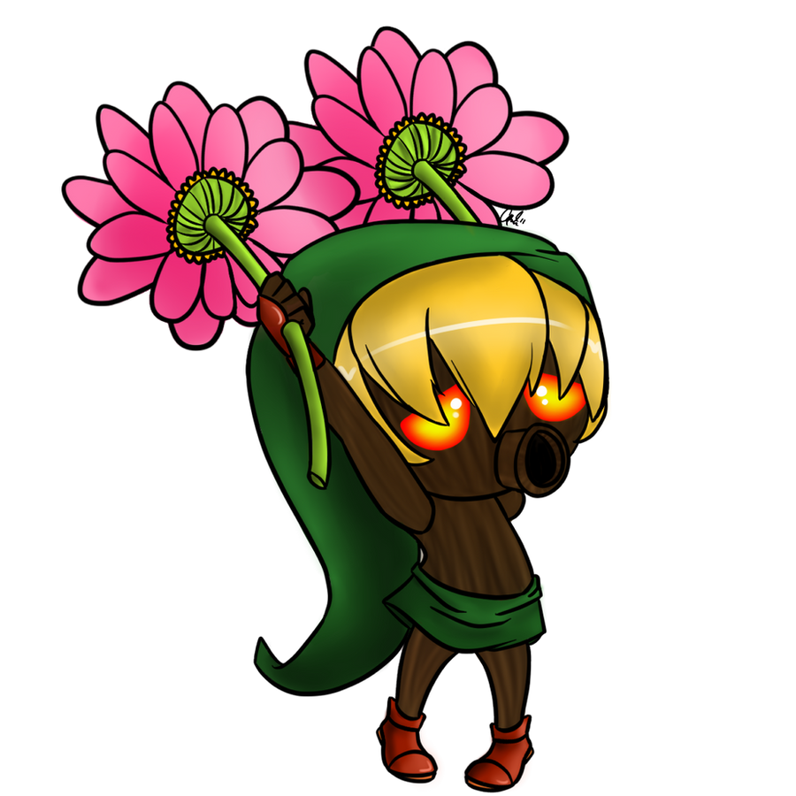 Deku Mask by CrayonKat on DeviantArt