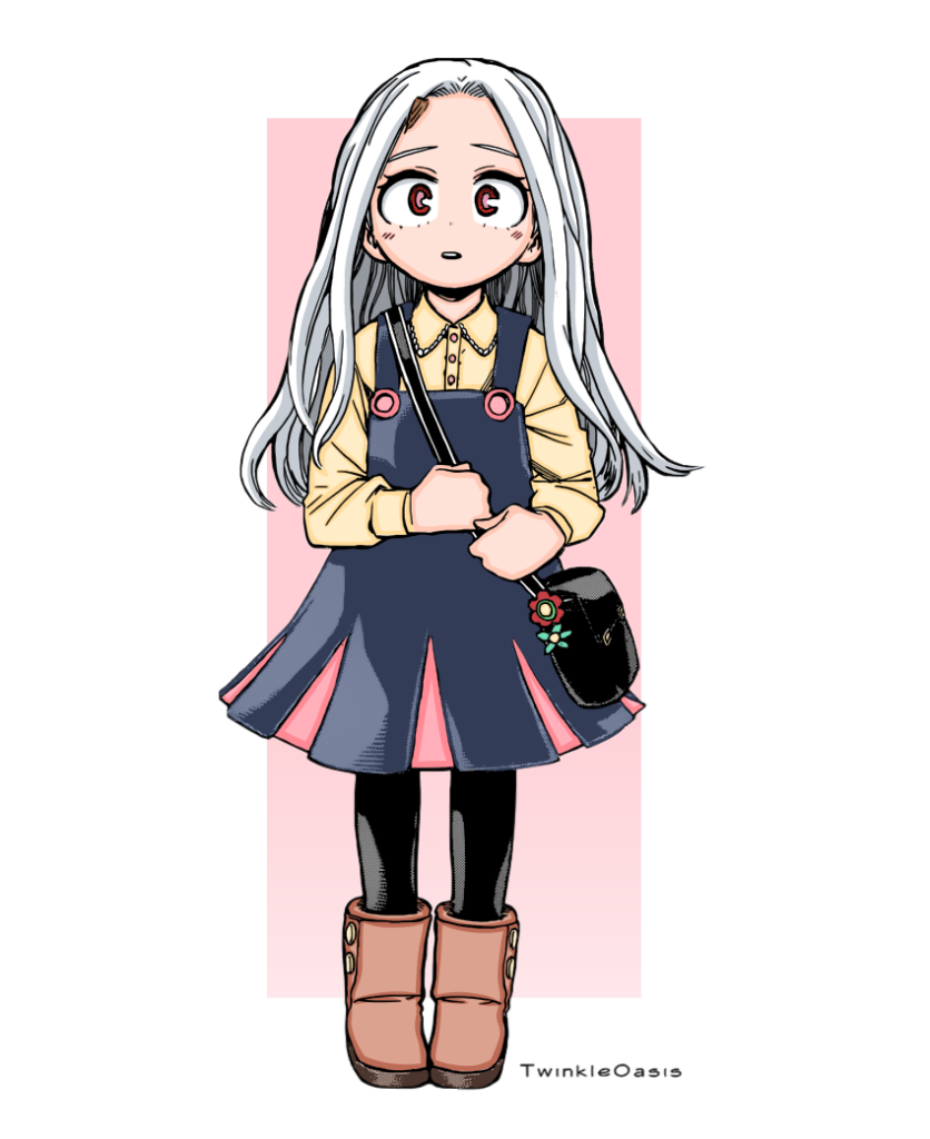 twinkleoasis I colored Eri shes so cute and