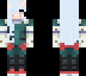 Eri as Deku  Minecraft Skin