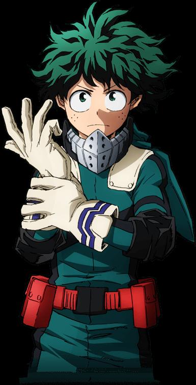 My Hero Academia  Izuku Midoriya  ตัวการ์ตูนชาย การ