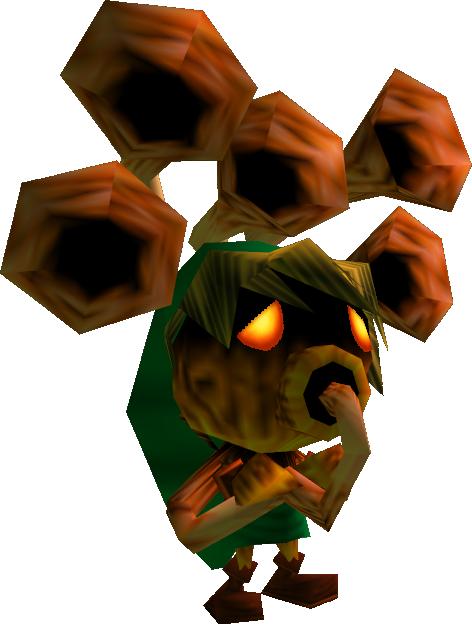 Koroks vs Deku your preferred plant based Zelda race
