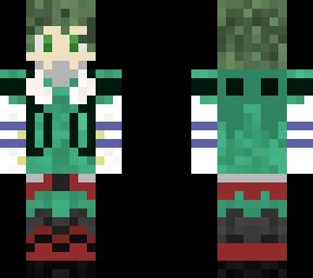 My Hero Academia Deku  Minecraft Skins
