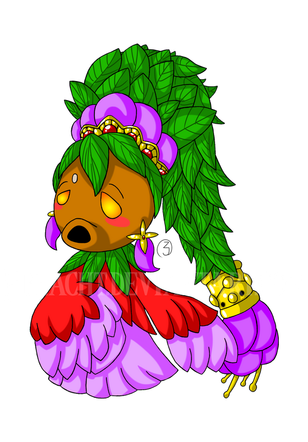 Deku Princess by Ppeacht on DeviantArt