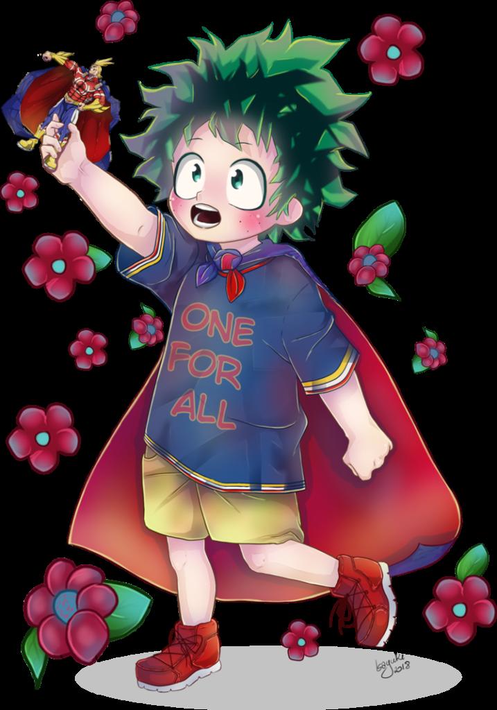KidsSeries Deku from My Hero Academia by Isayuki  My