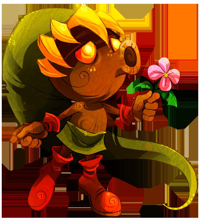 Deku Link by MistyTang on DeviantArt  Zelda art Legend