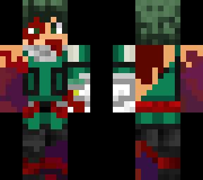 Deku | Minecraft Skins - Deku Hand