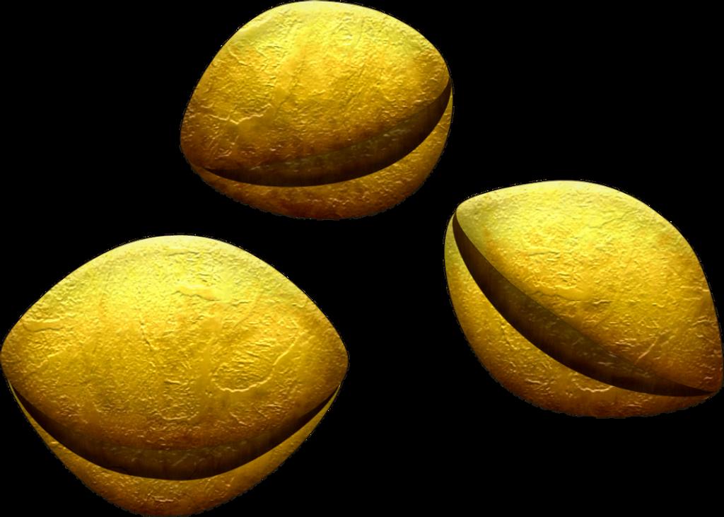 OOT Deku Seeds by BLUEamnesiac on deviantART