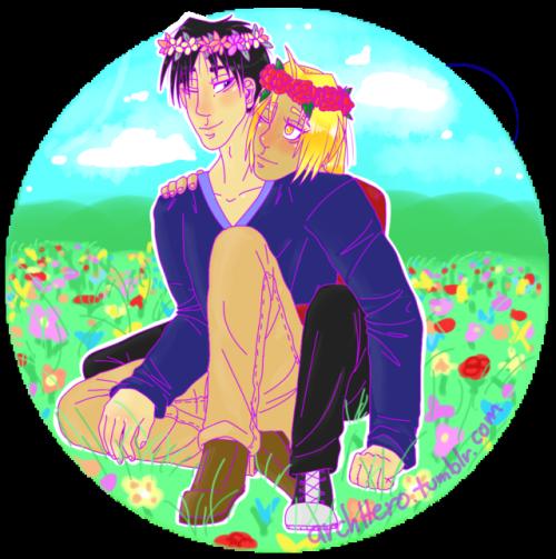 ed flower crown  Tumblr