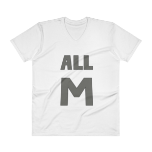 Deku All M - My Hero Academia Men's V-Neck T-Shirt for ... - Deku T-Shirt