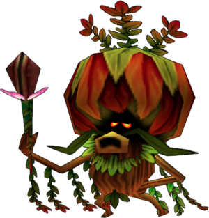 Deku King  Zelda Dungeon Wiki