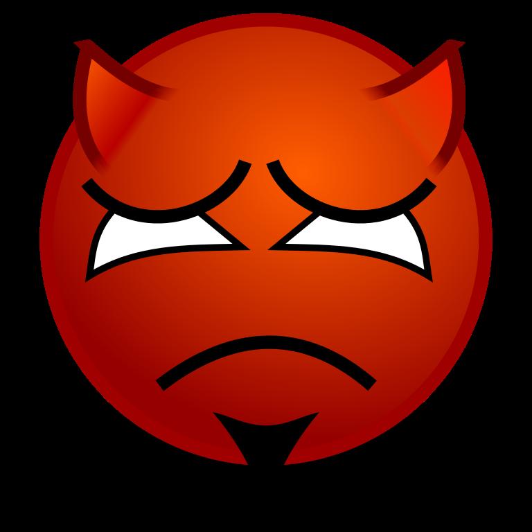 FileSmiley devil sadsvg  Wikimedia Commons