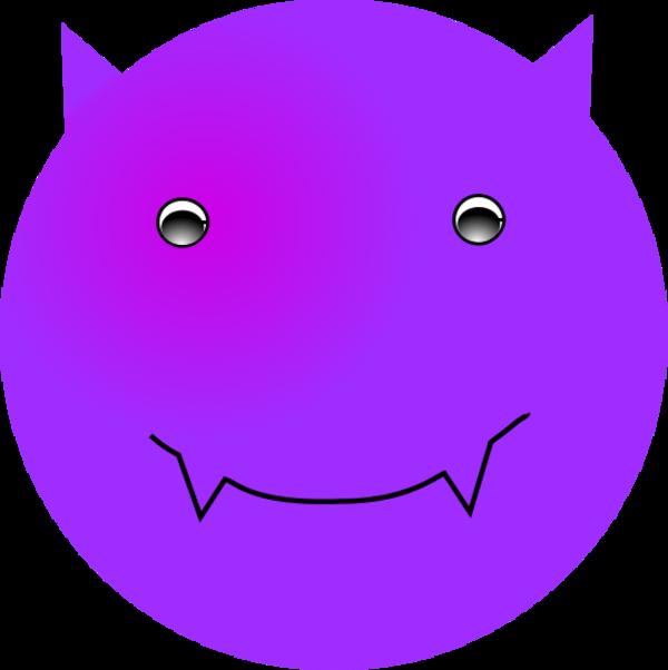 Download Devil Smiley Face Clip Art N8  Png Download