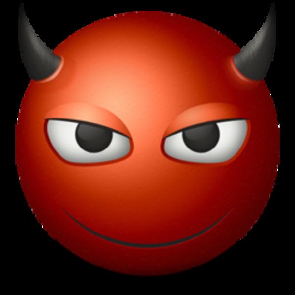 Emoticon Devil 256  Free Images at Clkercom  vector