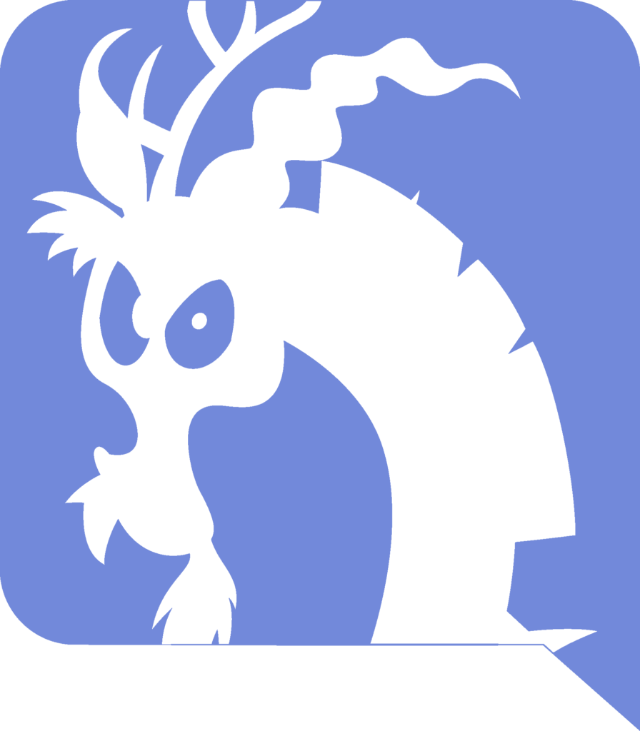 Discord logo by Evilbob0 on DeviantArt