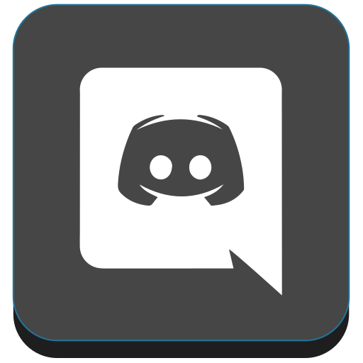 App chat discord game gamer social Free Icon of