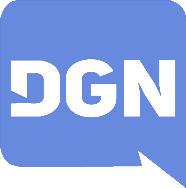 Discord Gaming Network Logo  Electric Blue Clipart