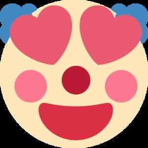 clownhearteyes - Discord Emoji - Discord Heart Emoji