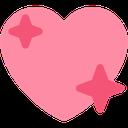 pinksparklingheart  Discord Emoji