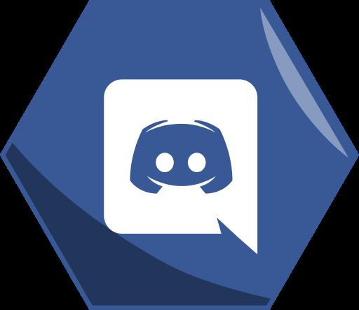App Social Hexagon Awesome Discord icon