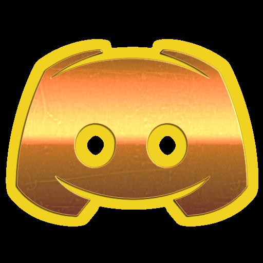 Yellow Discord Icon 333437  Free Icons Library