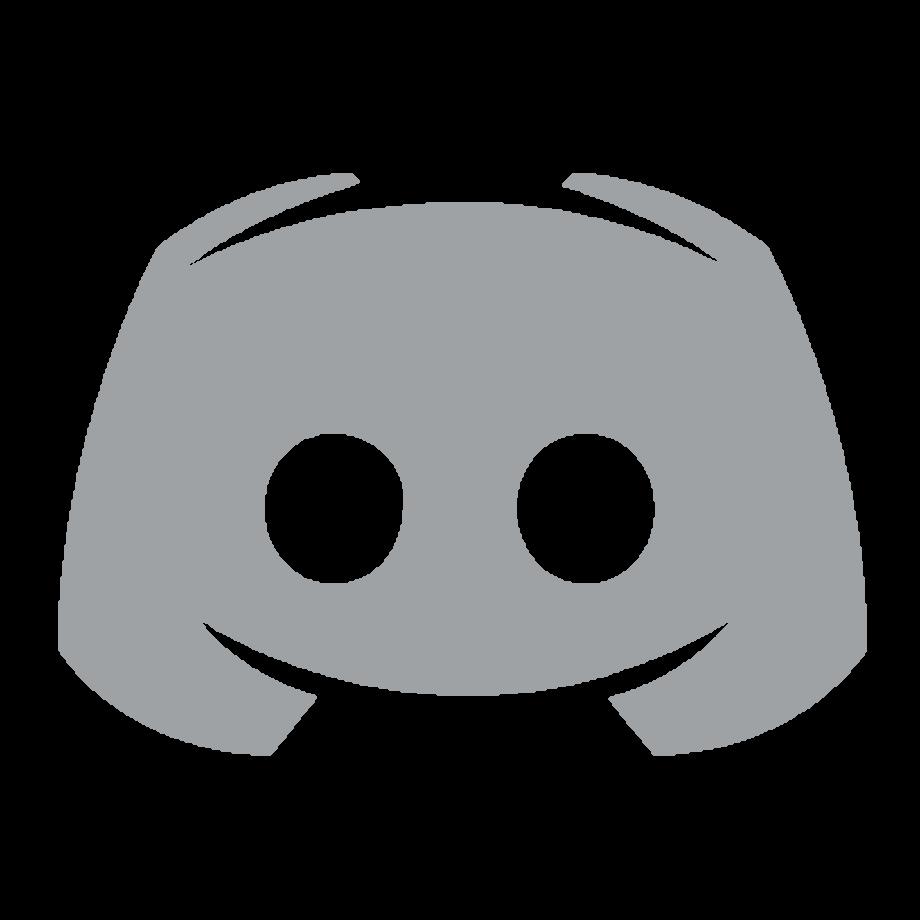 Download High Quality discord logo transparent grey