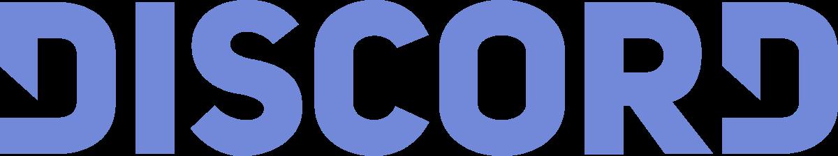 File:Discord Color Text Logo No Padding.svg - Social Wiki - Discord Logo Color