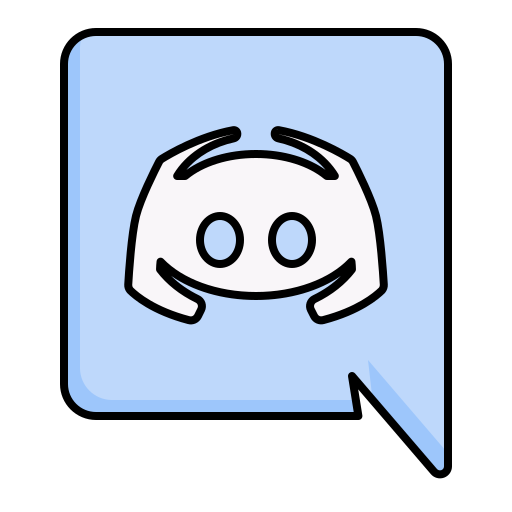 Discord apps platform Free Icon of Apps Filled outline