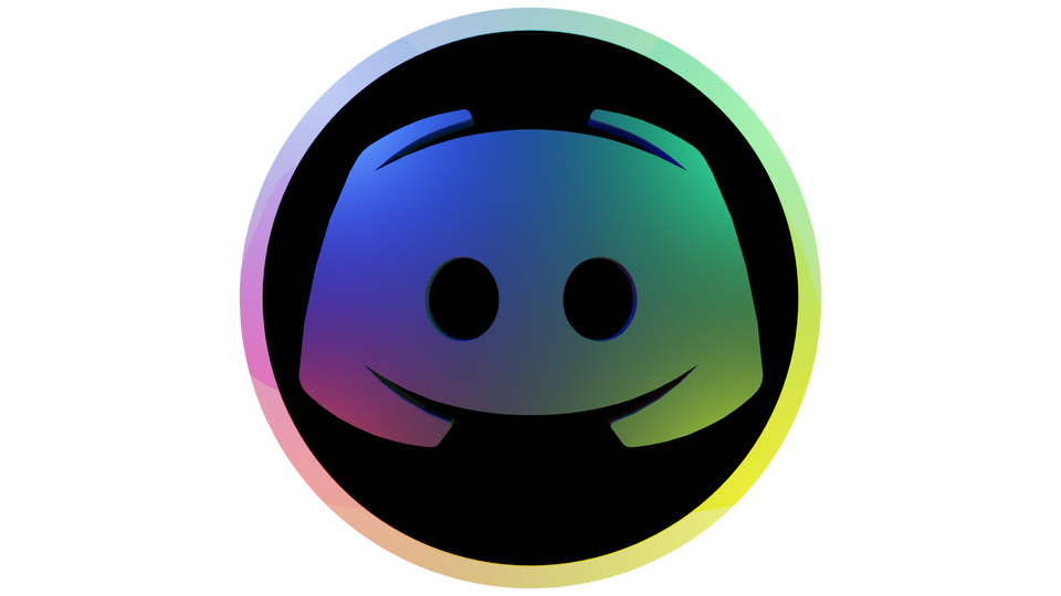 I remade the Discord icon in 3D  discordapp