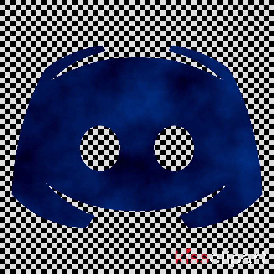 Discord Logo clipart  Blue Smile Emoticon transparent