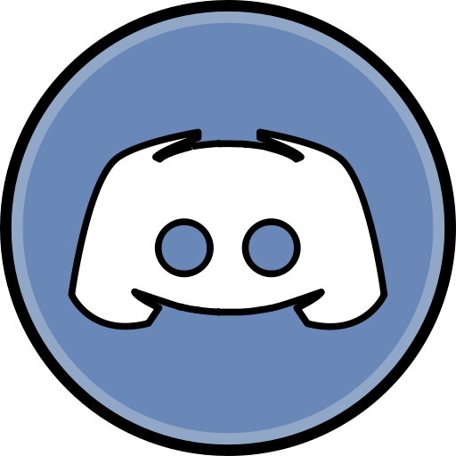 Discord media Social icon