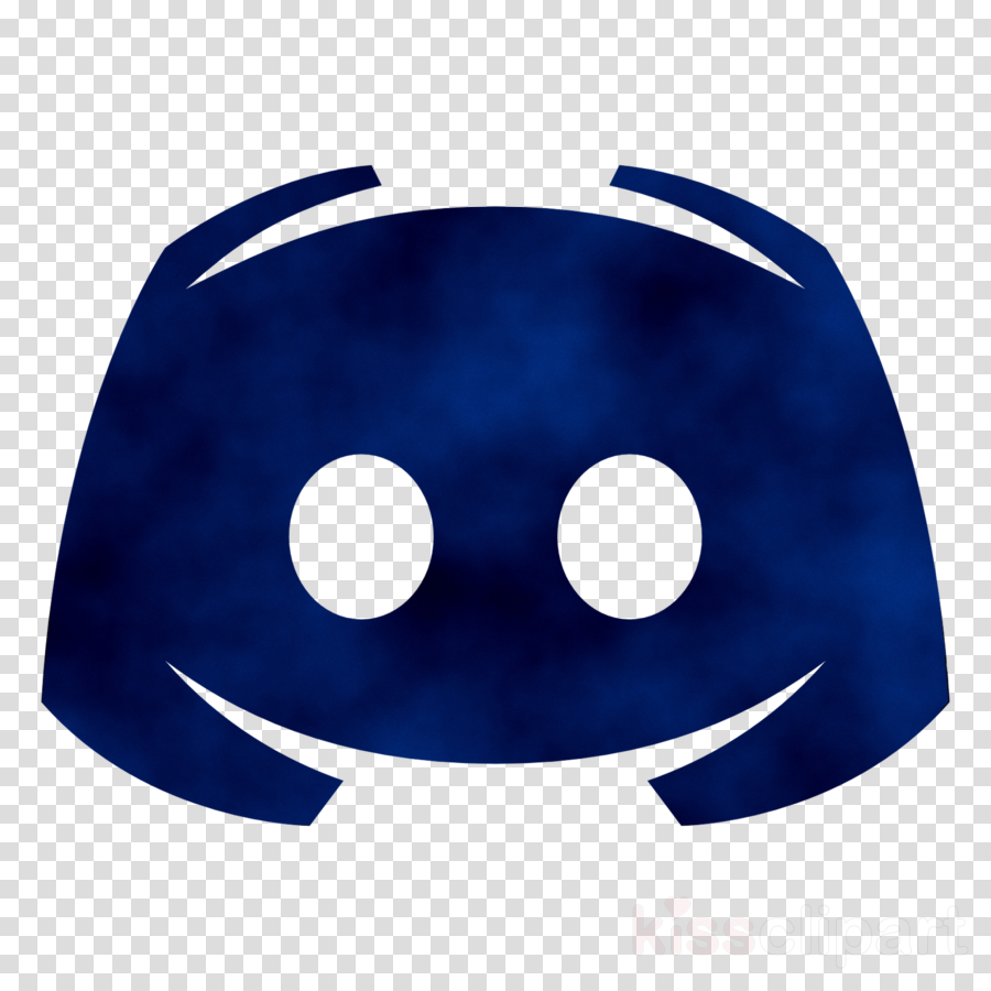 Discord Logo clipart  Blue Smile Emoticon transparent clip art