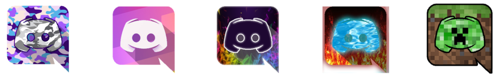 Some custom discord icons I made check comments for info