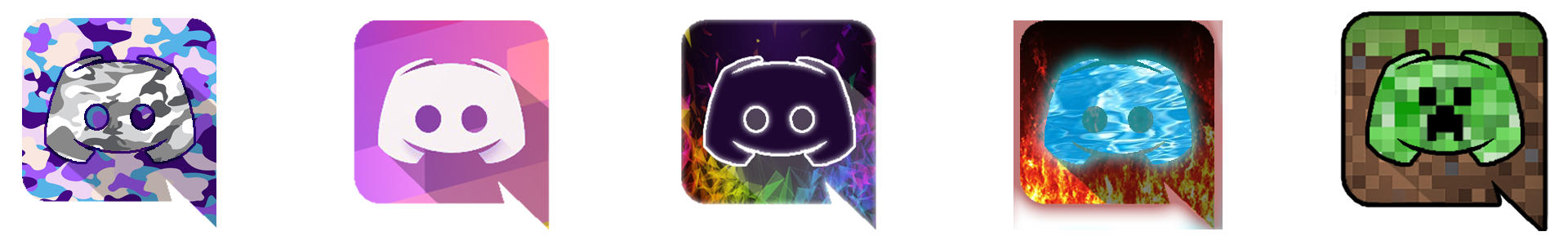 Some custom discord icons I made! (check comments for info ... - Discord Logo Unique
