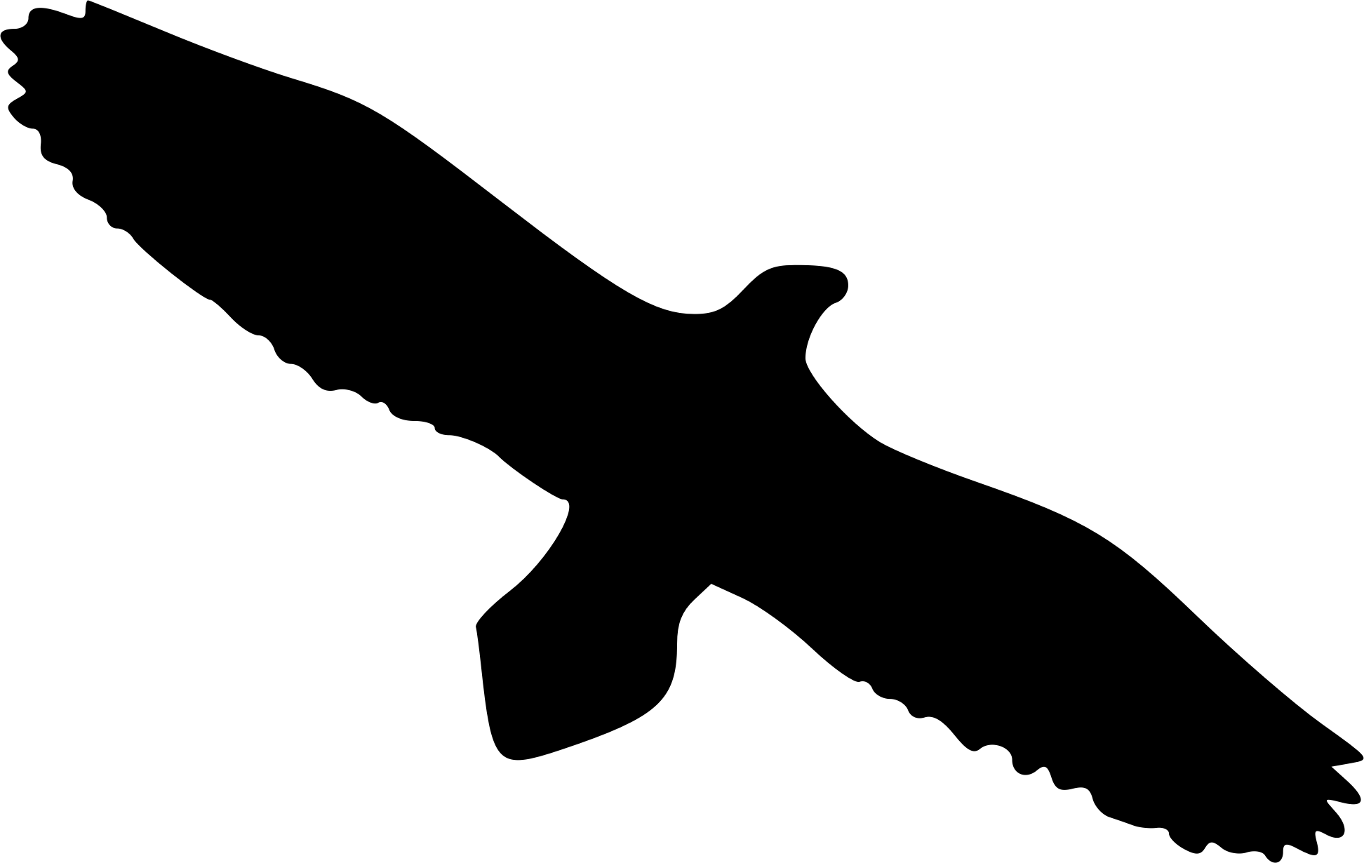 Clipart - Eagle silhouette 4 - Eagle Face Silhouette