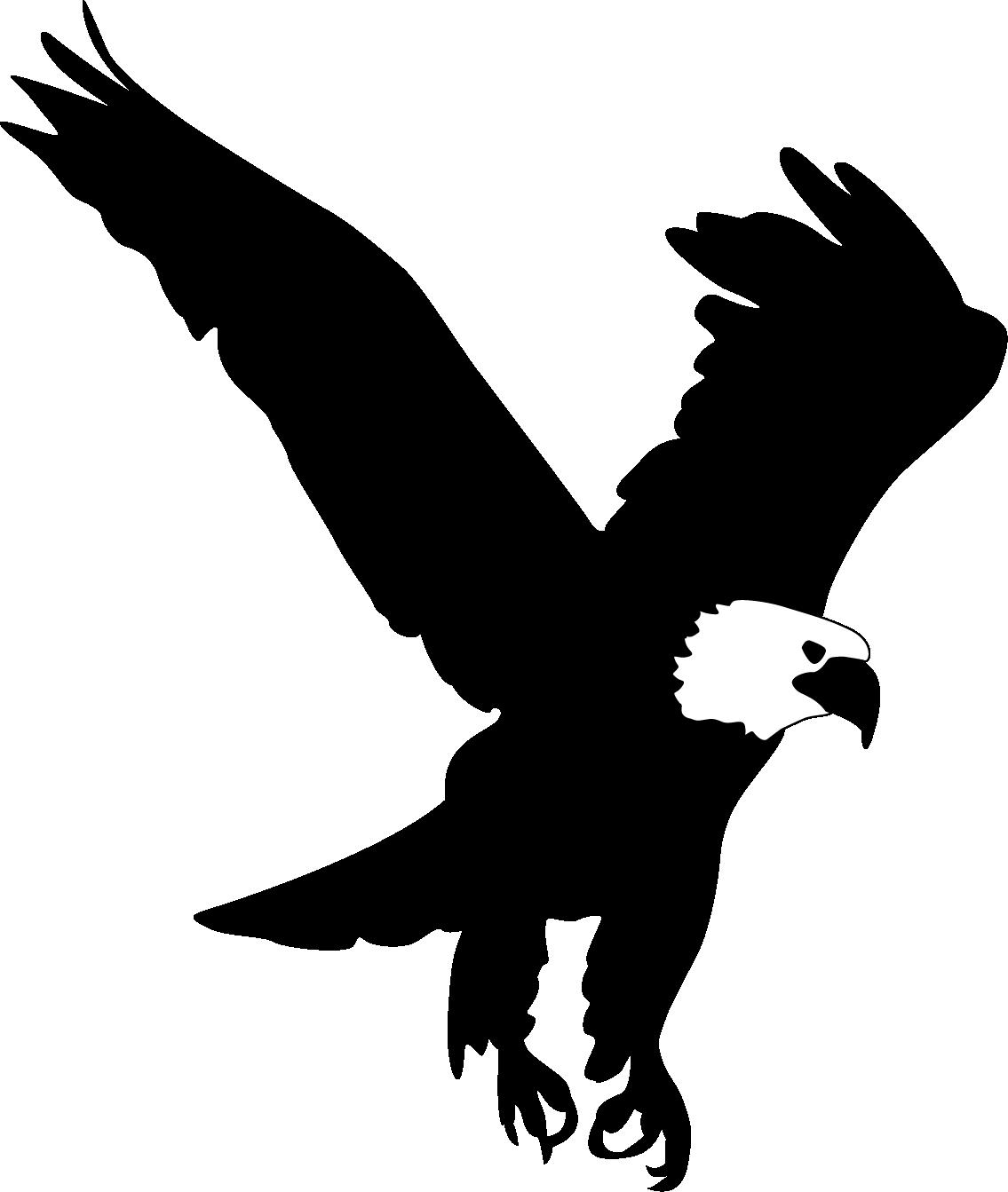 Bald Eagle Clip art - Eagle wings png download - 1135*1343 ... - Eagle Face Silhouette