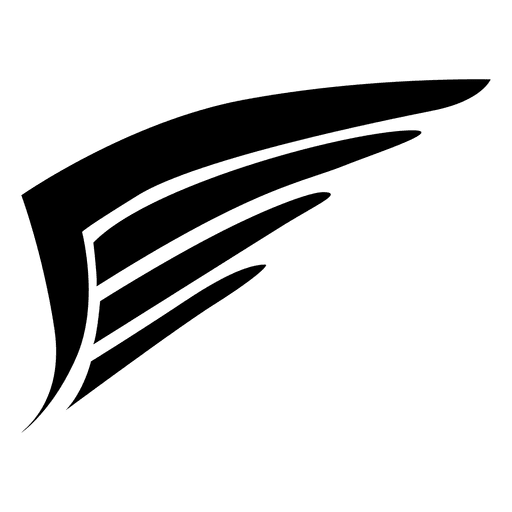 Feather Silhouette Vector at GetDrawings  Free download