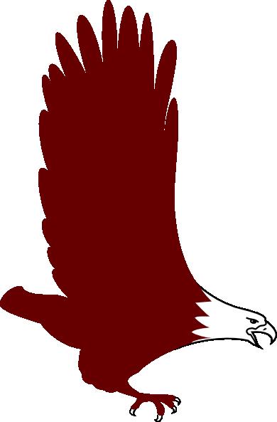 Soaring Eagle Clip Art at Clkercom  vector clip art
