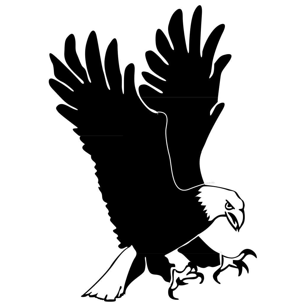 Hunting Eagle PNG SVG Clip art for Web  Download Clip