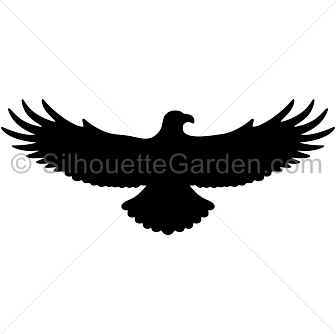 Flying eagle silhouette clip art Download free versions