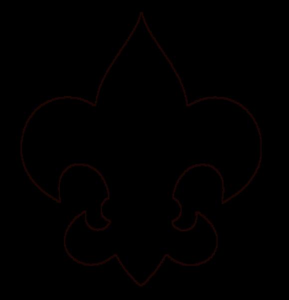Fleurdelis Fw  Free Images at Clkercom  vector clip art