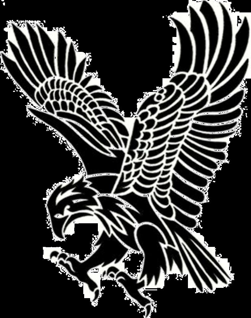 Eagle Tattoo Download Transparent Png Image  Tribal Eagle