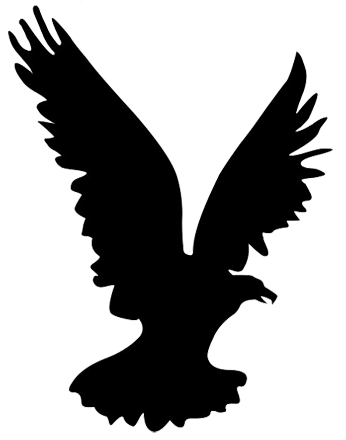 Silhouette Hawk at GetDrawingscom  Free for personal use