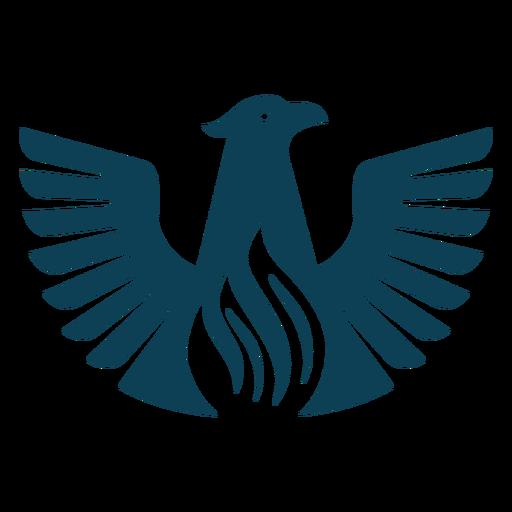 Bird eagle wing beak silhouette  Transparent PNG  SVG