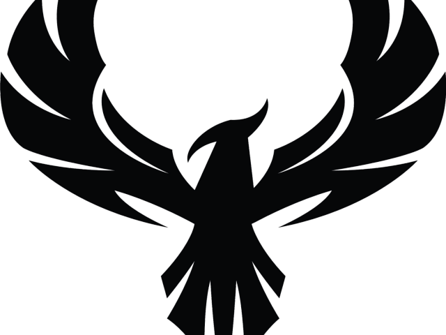 Phoenix Clipart Phoenix Silhouette  Eagle Logo Design
