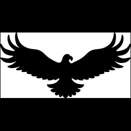 Eagle Silhouette  Eagle silhouette Silhouette clip art