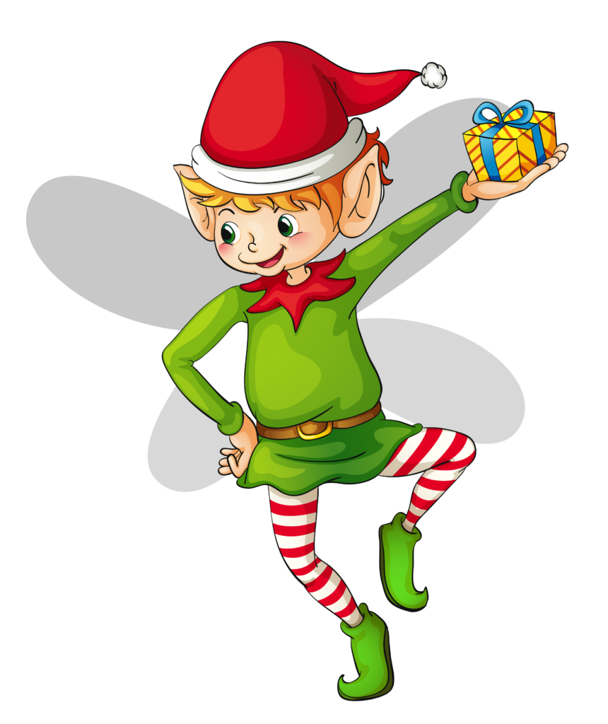 Elf Clipart Black And White  Free download on ClipArtMag