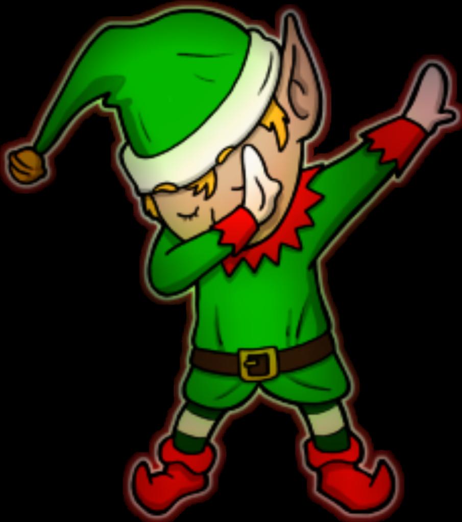 Elf clipart dancing elf Elf dancing elf Transparent FREE